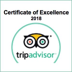 Trip Advisor Cert 2018